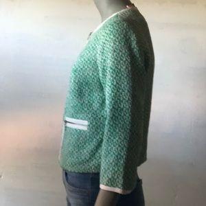CAbi Jackets & Coats - CAbi Cover Tweed Cropped Jacket Blazer 726